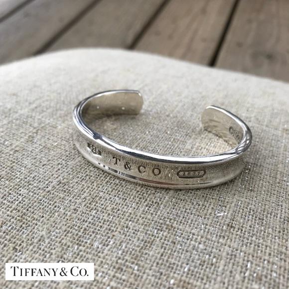 f2cb6aff5 Tiffany & Co. Jewelry   Tiffany Co 925 Bracelet Cuff 1837   Poshmark